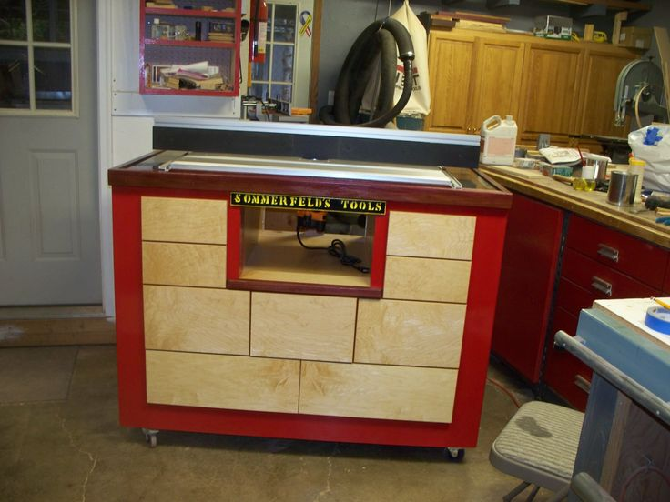 sommerfeld router table and fence reviews