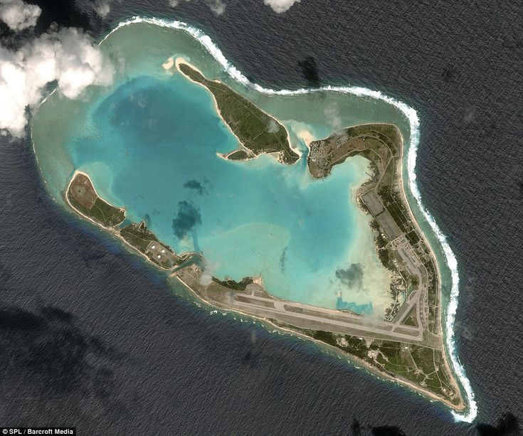 Wake Island is a coral atoll with a coastline of 12 miles just north of the Marshall Islands in the North Pacific Ocean