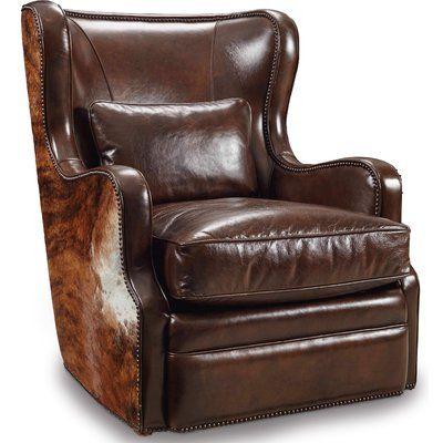 Hooker Furniture Wellington Swivel Club Chair