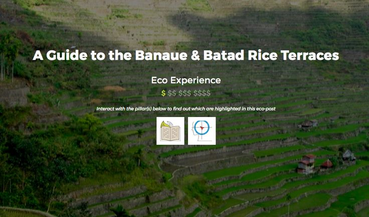 A Guide to the Banaue & Batad Rice Terraces - Eco Escape Travel #EcoExperience #Philippines