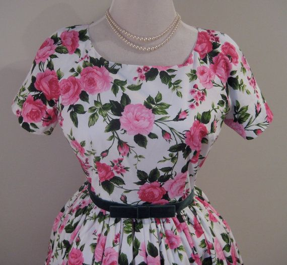 The Rambling Rose  CUSTOM MADE Vintage inspired by TheFrockCloset