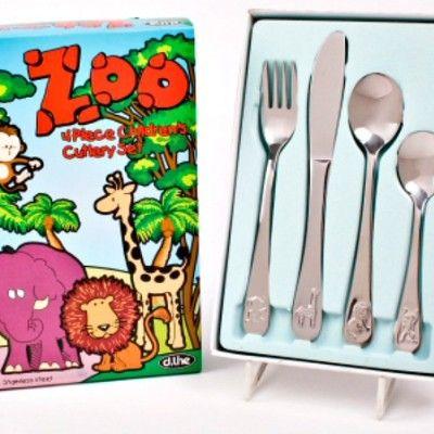 Zoo Animals Stainless Steel Cutlery http://littlebentoworld.com/shop/cutlery/zoo-animals-stainless-steel-cutlery/