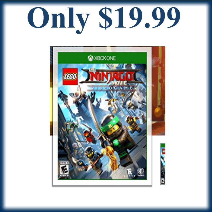 Lego Ninjago Movie Video Game -Xbox One Only $19.99! (reg. $59.99) - https://dealmama.com/2017/11/lego-ninjago-movie-video-game-xbox-one-19-99-reg-59-99/
