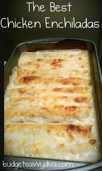 The Best Chicken Enchiladas Cook time: 35 mins 2 cups cooked, shredded