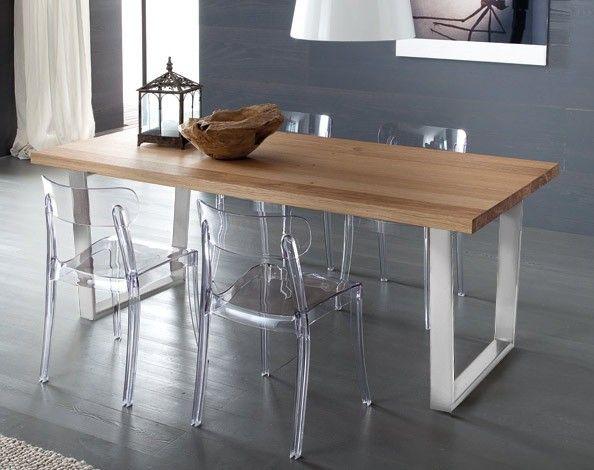 Jedálenský stôl Cruise vyniká svojou kombináciou materiálov. Drevená doska stolu je doplnená o efektivnu hliníkovú konštrukciu, ktorá dáva nožičkám stola...