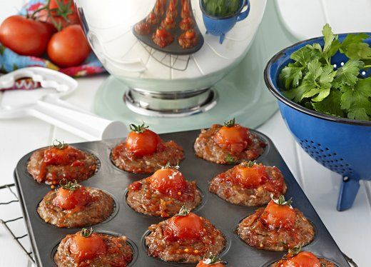 KitchenAid Stand Mixer recipe - Mini meatloaf