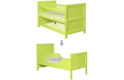 Bopita Cot-Bed 70x140 Mix and Match Lime