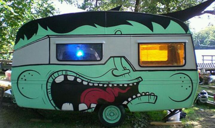Paint Job Lol Vintage Trailer Obession Pinterest Paint