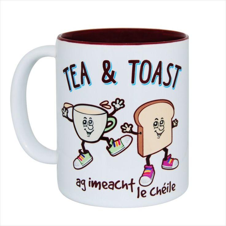 Tea and Toast Gift Mug & Tin/Box by HairyBaby.com