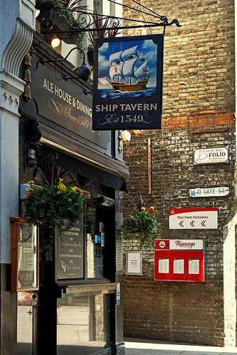 The Ship Tavern (Circa 1549) Holborn, London