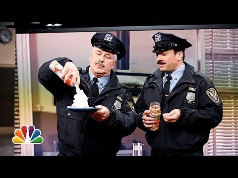 Jimmy Fallon And Alec Baldwin's Mustachioed 80's Cop Show Spoof Is Perfection