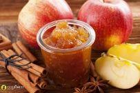 Μαρμελάδα μήλο με κανέλα και αστεροειδή γλυκάνισο