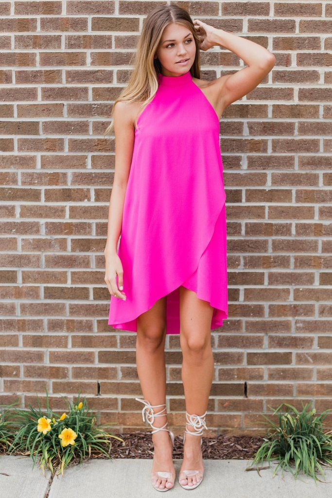 Hot Pink Punch Dress