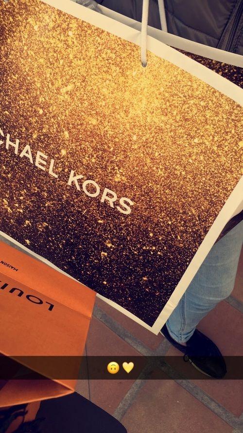 why not? Michael Kors Clutch - Gia Python