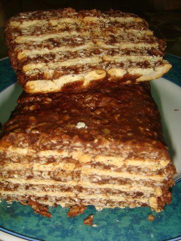 TURRON DE AVENA Y CHOCOLATEEmpezás a comér y no podés parárrrr !!!![enviada por NORALI]