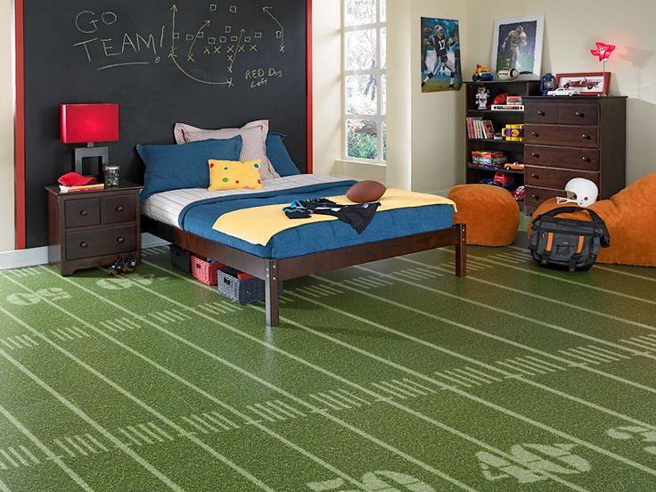 Football Field Flooring Man Cave Flooring Our Home