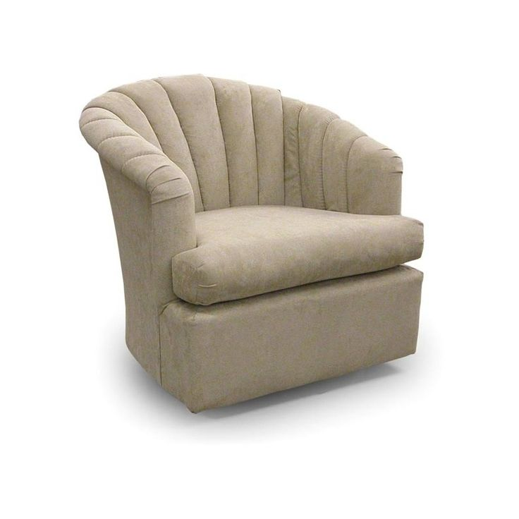 Elaine swivel barrel chair at missouri furniture in 2020
