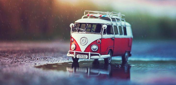 Minyatür Araçlarla Fotoğraf Sahnesi Oluşturun