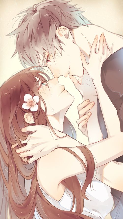 Immagine di anime, love, and couple