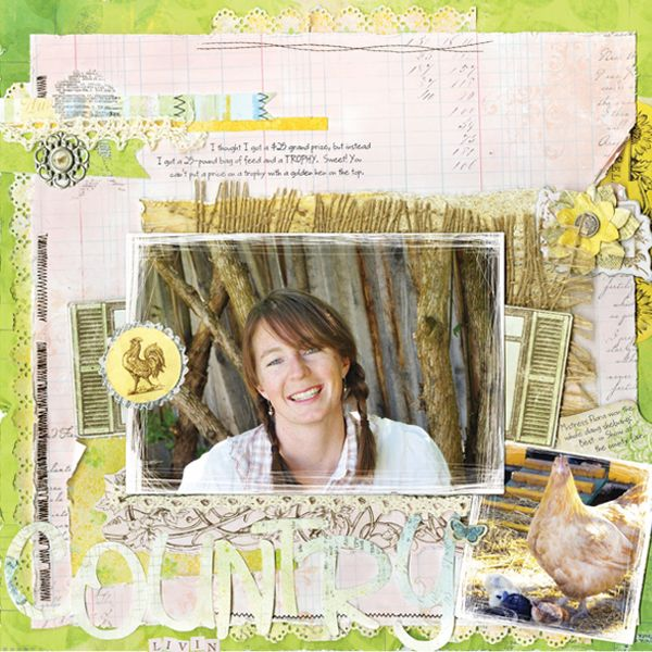 Snap Click Supply Co. - Country Garden Full Collection, $14.99 from Bo Bunny Digital #snapclicksupply #digitalscrapbooking