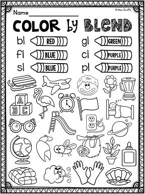 L Blends Worksheets and Activities | Blends activities ...