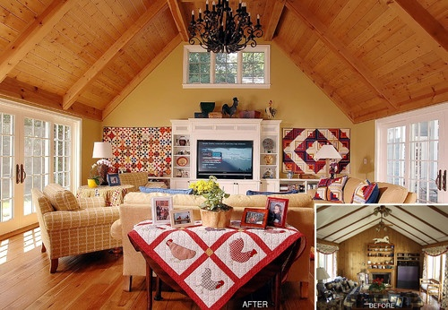 17 Best Images About Decorating With Quilts On Pinterest