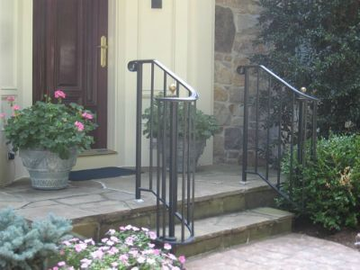 Best 25 Iron handrails ideas on Pinterest Wrought iron handrail
