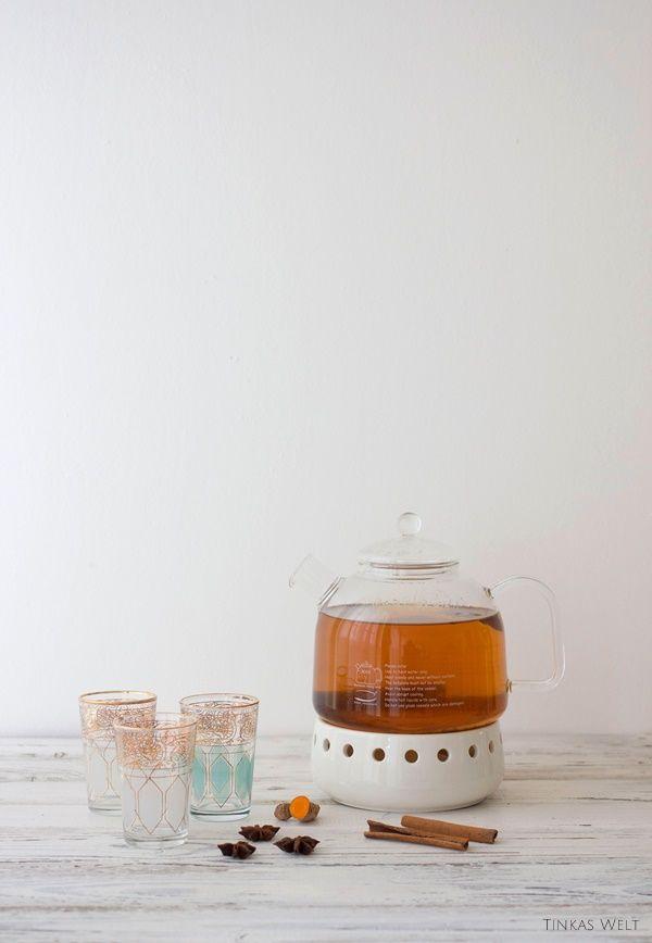 Tinkas Welt: Kurkuma - Tee für die Abwehrkräfte