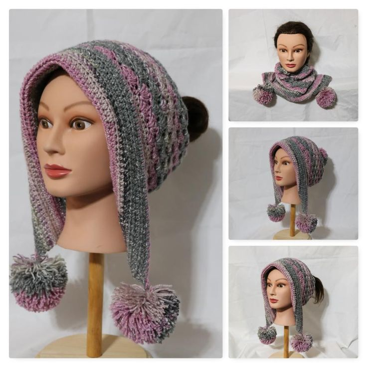 Frozen Snow Hat 3 Convertible by Donelda's Creations