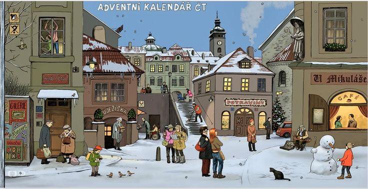 bolo nebolo: Adventný kalendár pre deti
