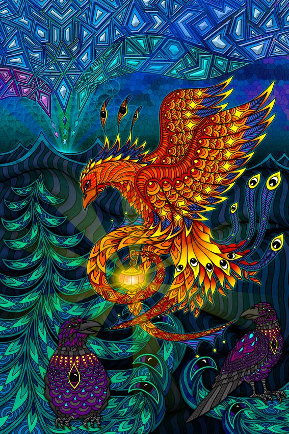 The Phoenix by Phil Lewis