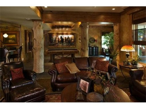Awesome Western Themed Basement Finish In Kansas City