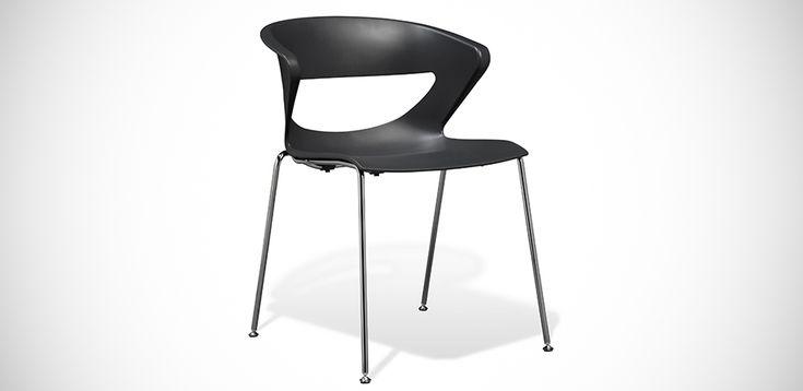 כסאות למסעדה Kicca מאת Kastel