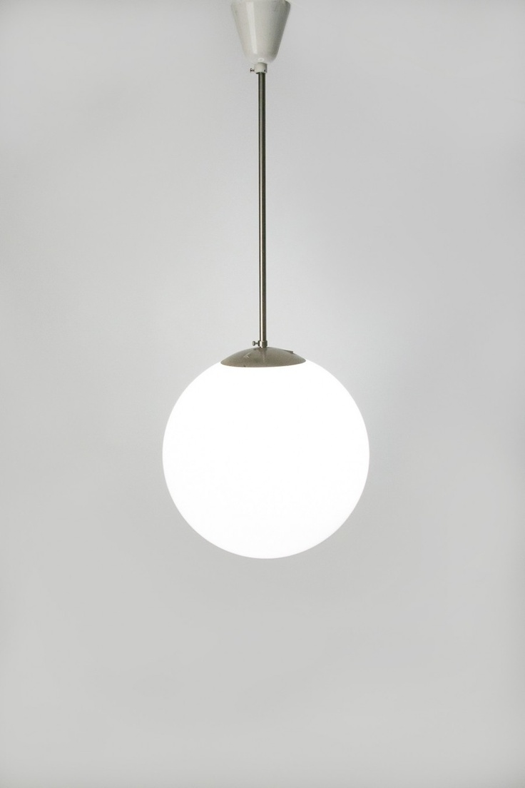 Bauhaus pendant lamp marianne brandt and hans przyrembel 1925 - Bauhaus Ball Lamp Designer Werksdesign