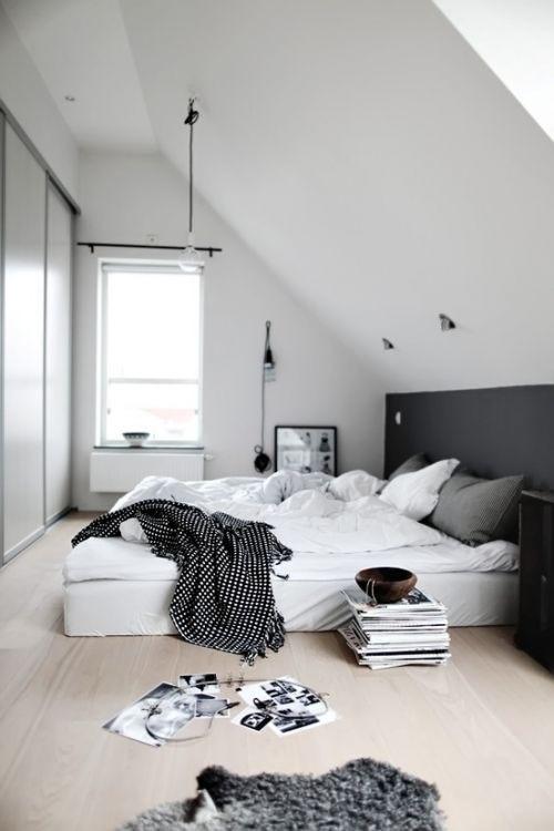 Attic bedroom..