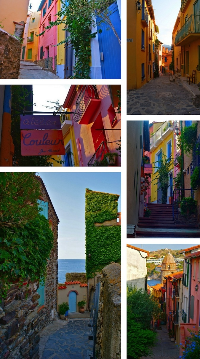 Walk through the colourful streets of Collioure