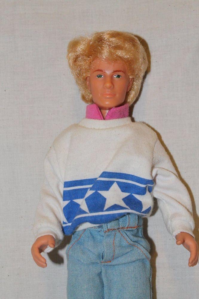 MAXIE 1988 Hasbro Rob High School Boyfriend Barbie Doll Blonde Rooted Hair   | eBay