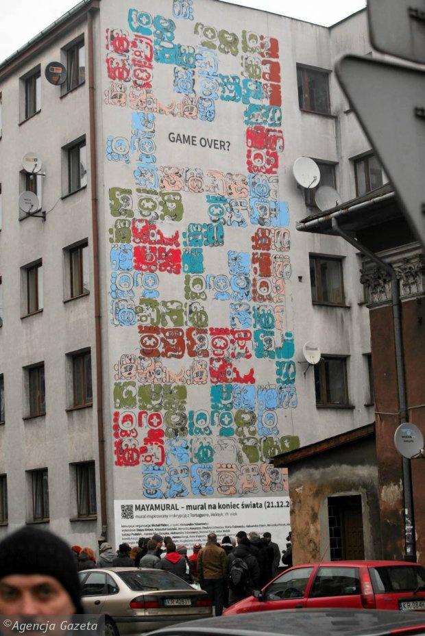 Mayamural w Krakowie