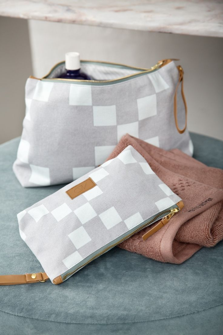 Cosmetic and toilet bag from Mette Ditmer