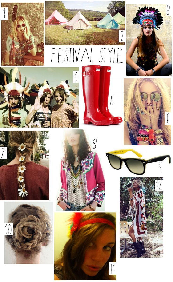 Festival Fashion Mood Board My Style Pinterest Fashion Mood Boards Mood Boards And Fashion