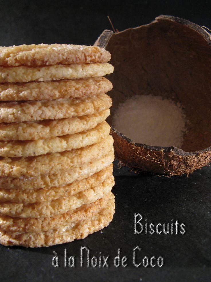 Biscuits à la Noix de Coco (Martha Stewart # 8)