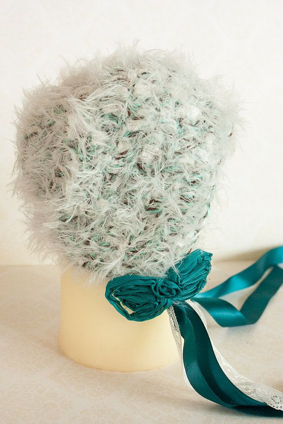 Check out this item in my Etsy shop https://www.etsy.com/listing/207368869/baby-bonnet-soft-green-turquoise-newborn