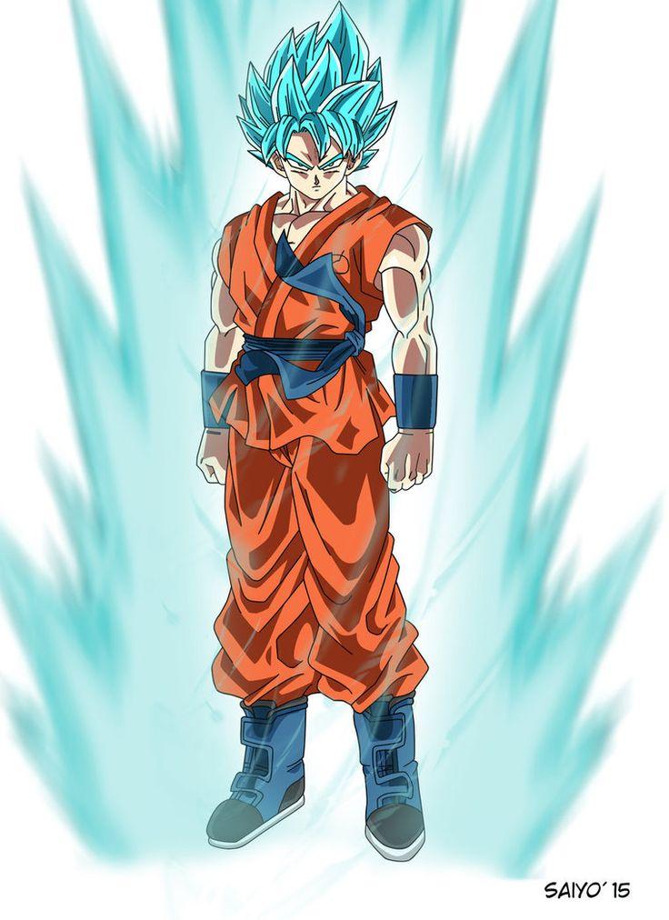 Goku ssj god blue render pesquisa google desenhos - Super saiyan 6 goku pictures ...