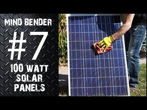 Check out this video about Solar Panels we just posted at http://greenenergy.solar-san-antonio.com/solar-energy/solar-panels/mb7-100-watt-solar-panels-3-winners/
