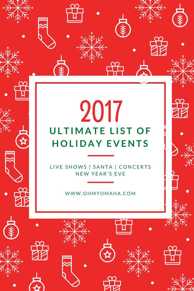 Ultimate Omaha Holiday Events List for 2017 | Omaha Christmas Concerts