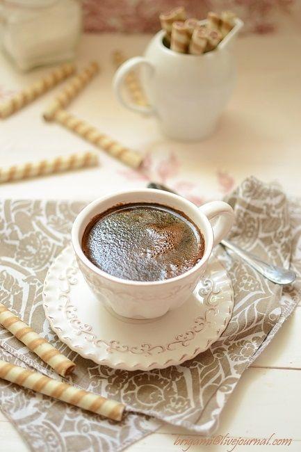 Кофе и трубочки с какао