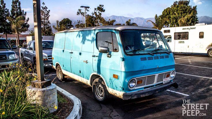 Chevrolet Chevy Van 1968 #camion #truck #van #chevrolet #chevy #1968 #60s #vintage