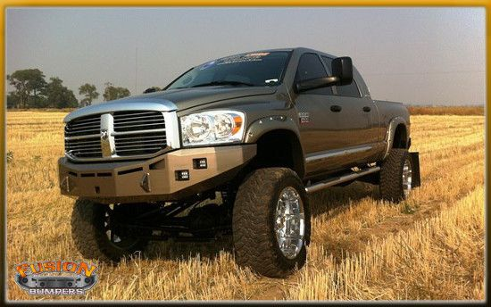 Fusion Bumpers 2006-2009 Dodge Ram Front Bumper - BFD Performance, LLC