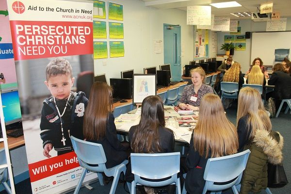 St Benedict's Students get an insight into the World of Work https://www.cumbriacrack.com/wp-content/uploads/2018/01/Bridget-Huddles-from-Aid-to-Church-in-Need-talking-to-students.jpg Year 9 students from St Benedict's Catholic High School have recently taken part in their annual World of Work Day    https://www.cumbriacrack.com/2018/01/29/st-benedicts-students-get-insight-world-work/