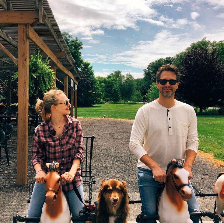 nice Amanda Seyfried 'Cannot Take Eyes' Off Husband Thomas Sadoski